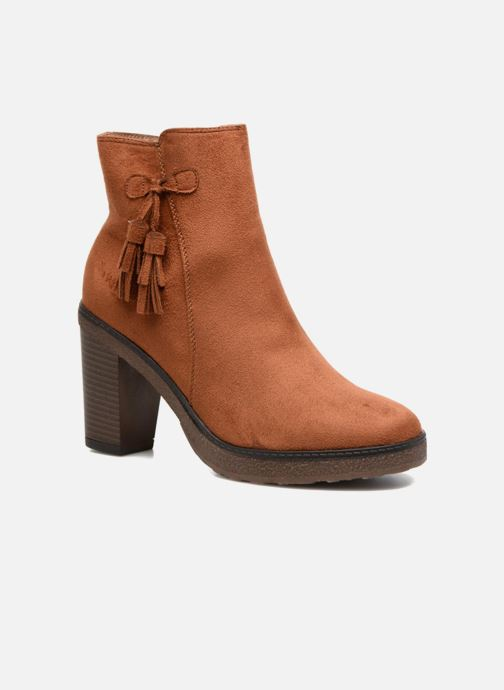 Boots en enkellaarsjes I Love Shoes THALUS Bruin detail
