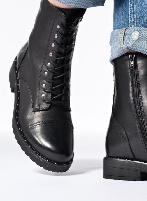 Stiefeletten & Boots I Love Shoes THALITA schwarz ansicht von unten / tasche getragen