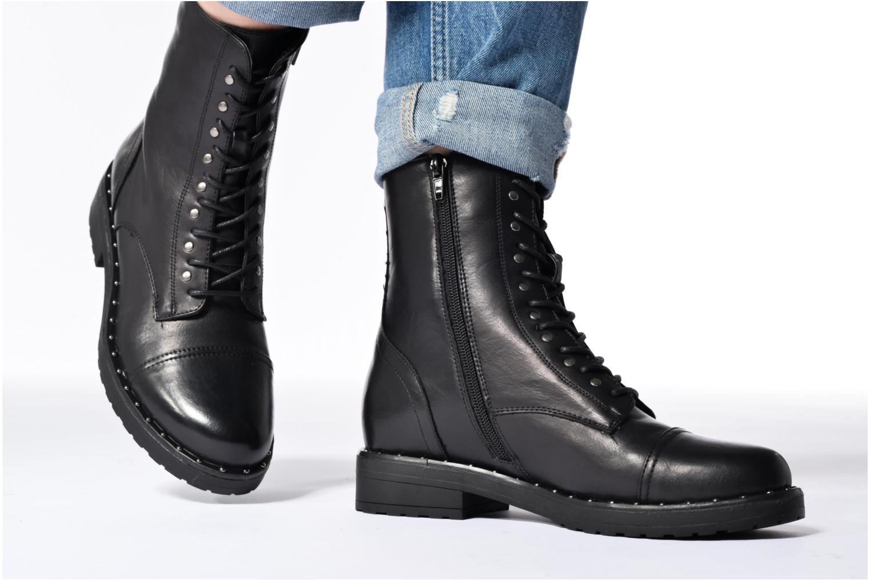 Bottines et boots I Love Shoes THALITA Noir vue bas / vue portée sac