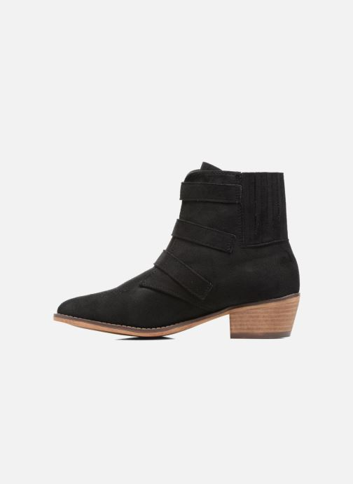 Bottines et boots I Love Shoes THERAPI Noir vue face