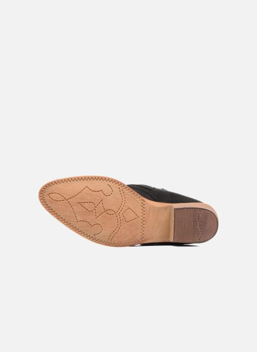Bottines et boots I Love Shoes THERAPI Noir vue haut