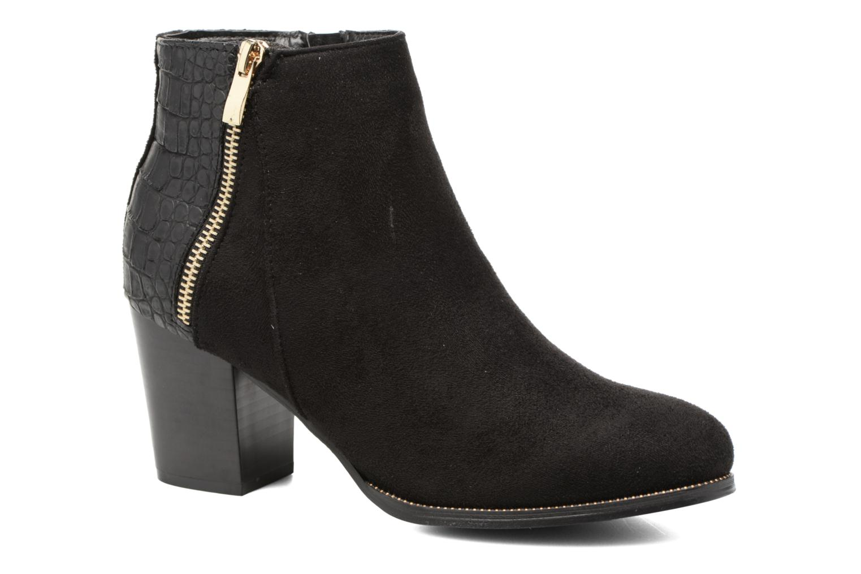 Ankelstøvler I Love Shoes Thucie Sort detaljeret billede af skoene