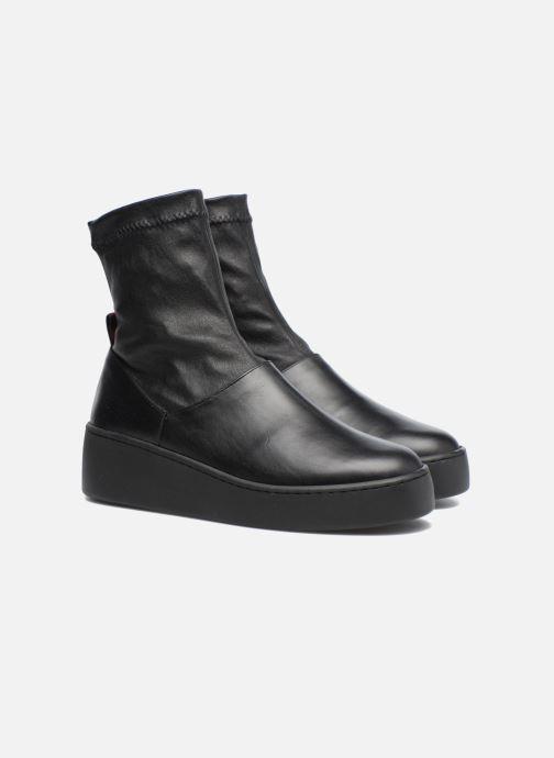 Bottines et boots Clergerie Teniera Noir vue 3/4