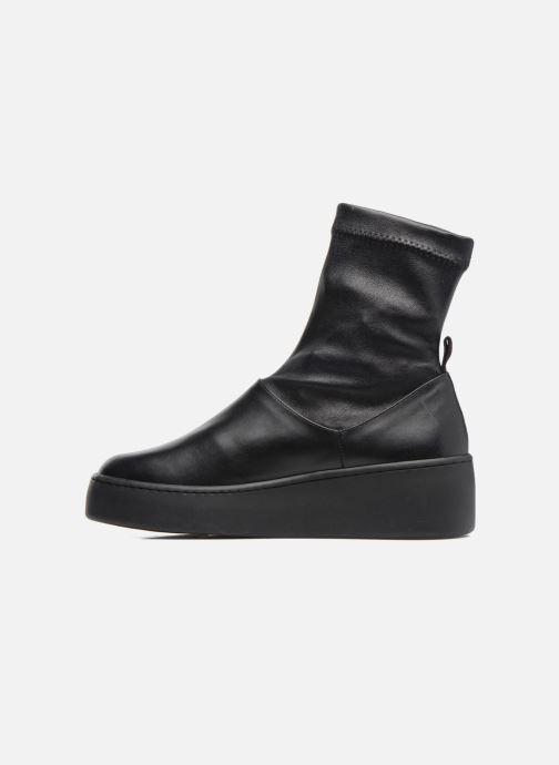Bottines et boots Clergerie Teniera Noir vue face