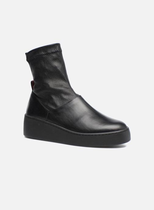 Bottines et boots Clergerie Teniera Noir vue détail/paire
