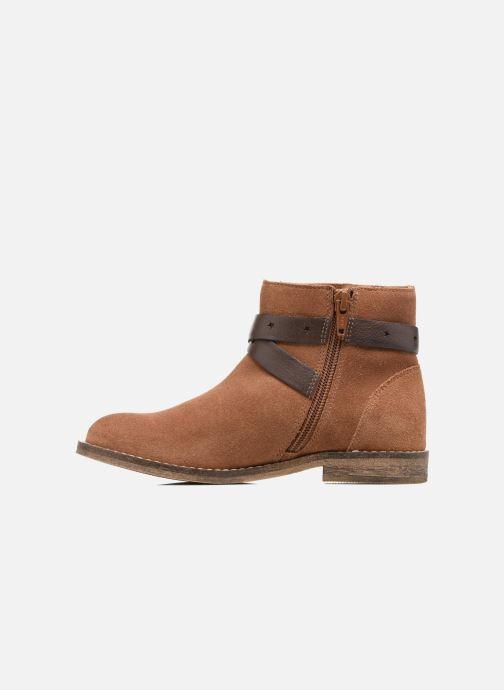 Bottines et boots I Love Shoes SELIA LEATHER Marron vue face