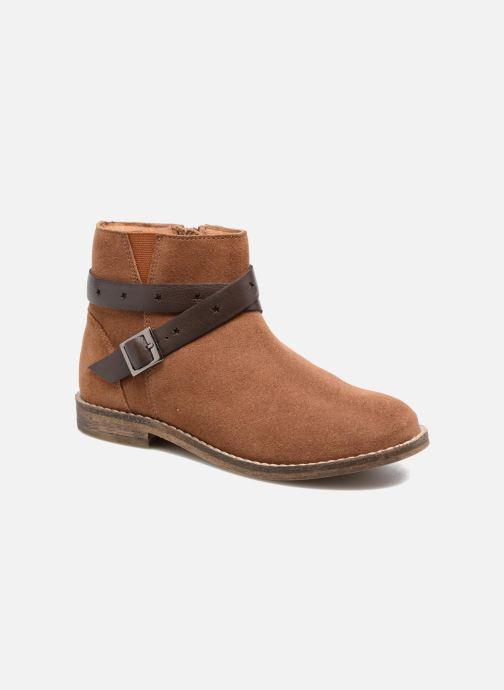 Bottines et boots I Love Shoes SELIA LEATHER Marron vue détail/paire