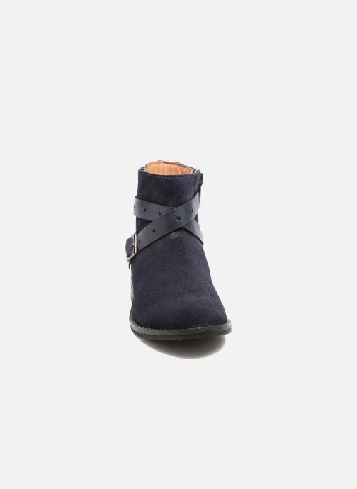 Bottines et boots I Love Shoes SELIA LEATHER Bleu vue portées chaussures