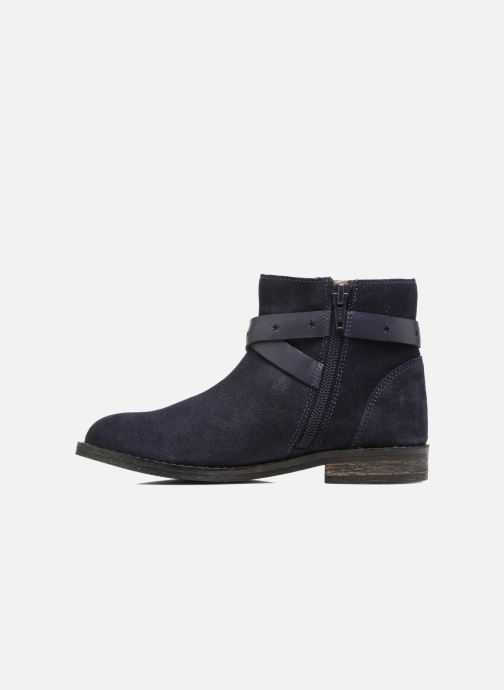 Botines  I Love Shoes SELIA LEATHER Azul vista de frente