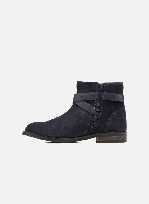 Bottines et boots I Love Shoes SELIA LEATHER Bleu vue face
