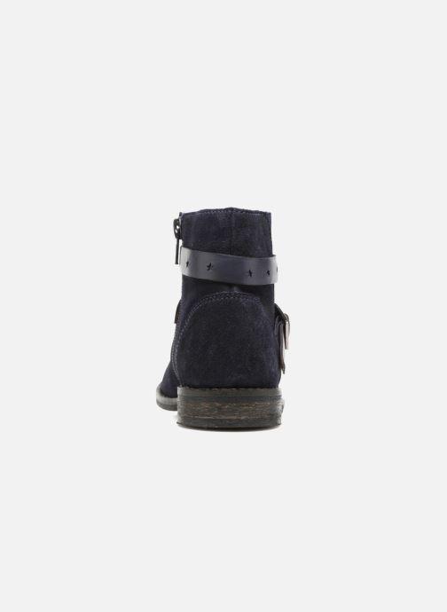 Bottines et boots I Love Shoes SELIA LEATHER Bleu vue droite