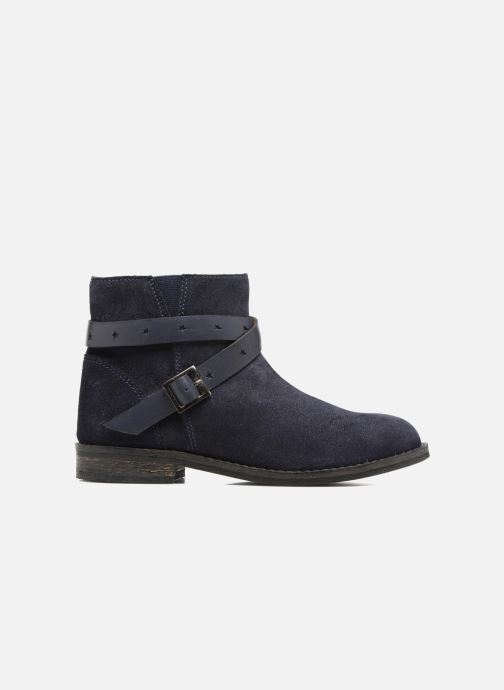 Botines  I Love Shoes SELIA LEATHER Azul vistra trasera