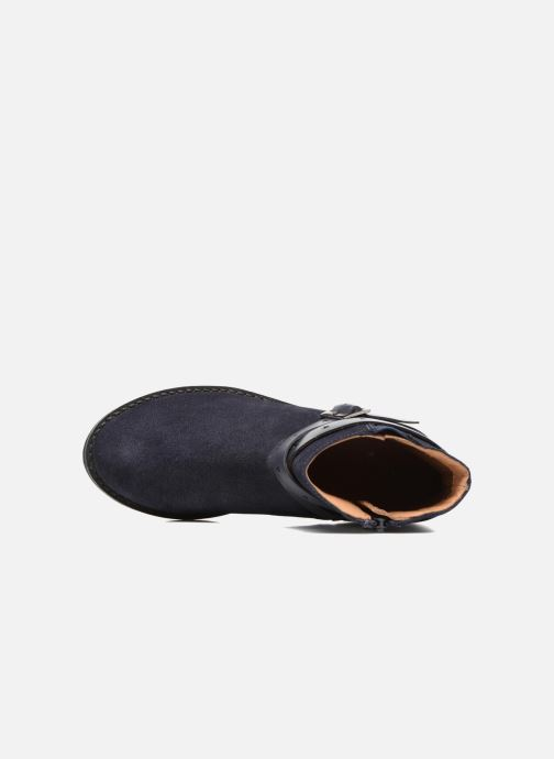 Botines  I Love Shoes SELIA LEATHER Azul vista lateral izquierda