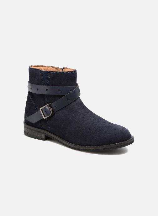 Botines  I Love Shoes SELIA LEATHER Azul vista de detalle / par
