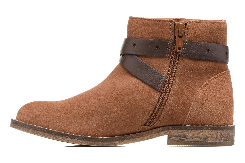 Stivaletti e tronchetti I Love Shoes SELIA LEATHER Marrone immagine frontale