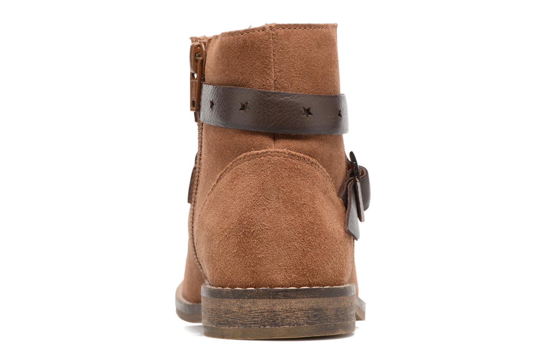 Stivaletti e tronchetti I Love Shoes SELIA LEATHER Marrone immagine destra