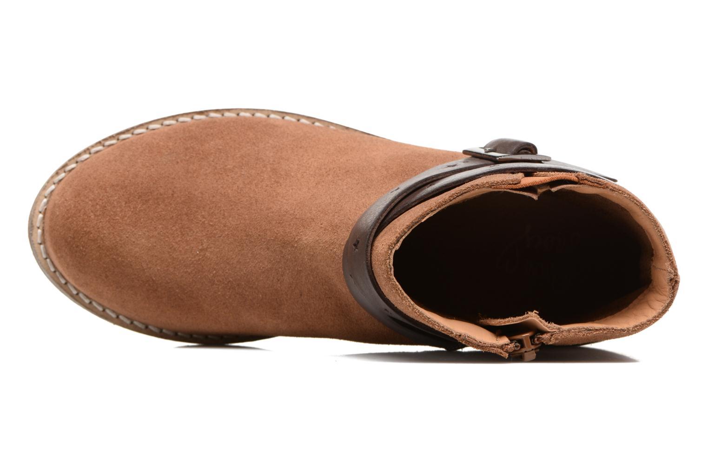 Stivaletti e tronchetti I Love Shoes SELIA LEATHER Marrone immagine sinistra