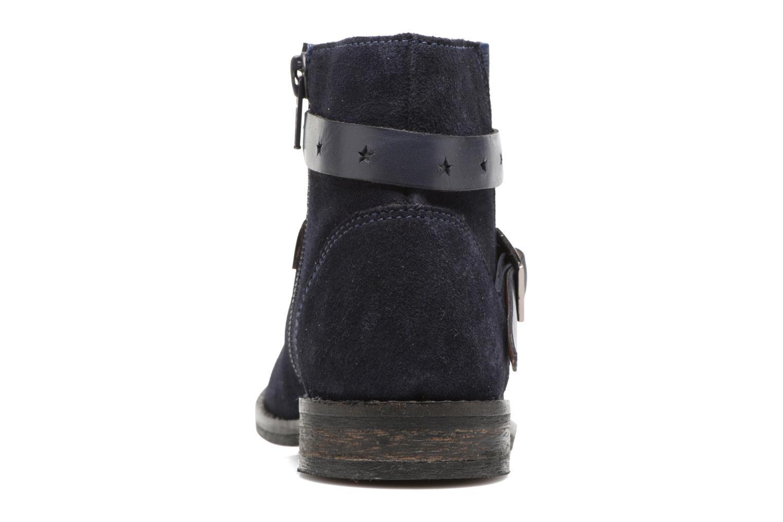 Boots en enkellaarsjes I Love Shoes SELIA LEATHER Blauw rechts