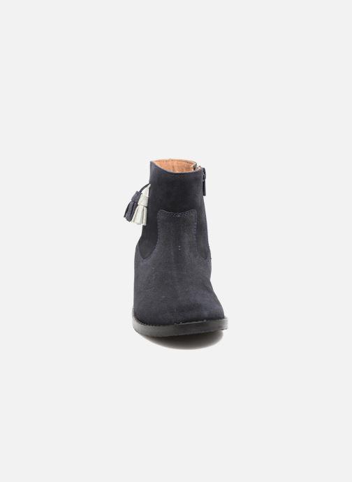 Stivaletti e tronchetti I Love Shoes SYLVE LEATHER Azzurro modello indossato