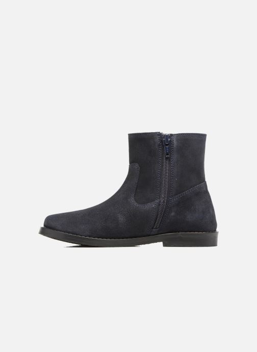Ankle boots I Love Shoes SYLVE LEATHER Blue front view
