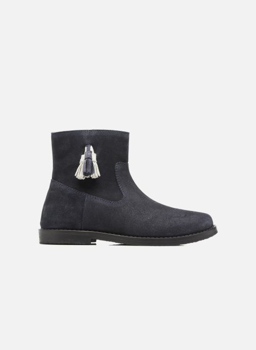 Ankle boots I Love Shoes SYLVE LEATHER Blue back view