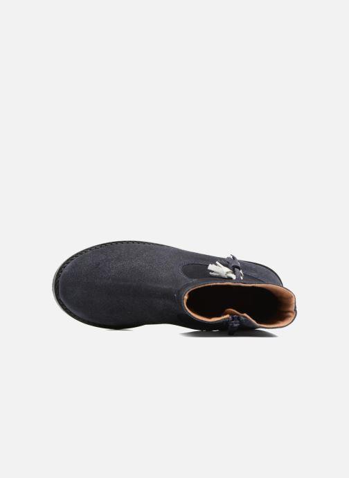 Bottines et boots I Love Shoes SYLVE LEATHER Bleu vue gauche