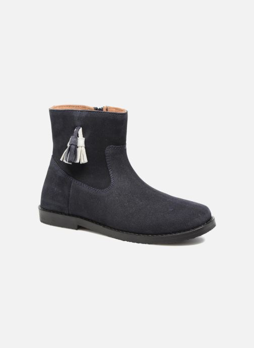 Ankle boots I Love Shoes SYLVE LEATHER Blue detailed view/ Pair view