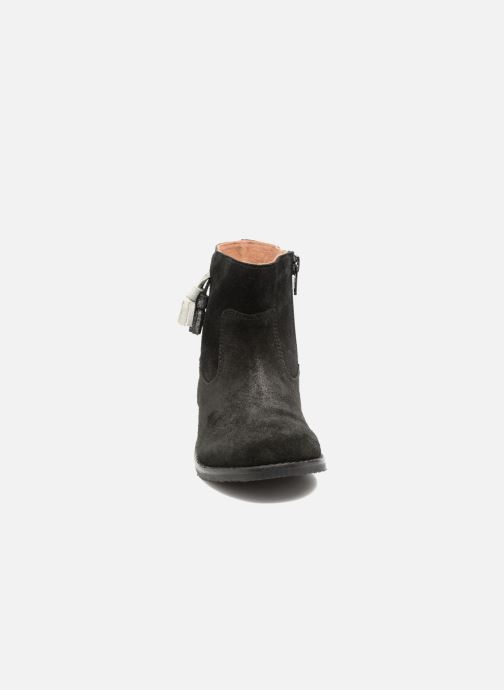 Ankle boots I Love Shoes SYLVE LEATHER Black model view