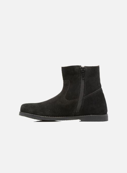 Boots en enkellaarsjes I Love Shoes SYLVE LEATHER Zwart voorkant