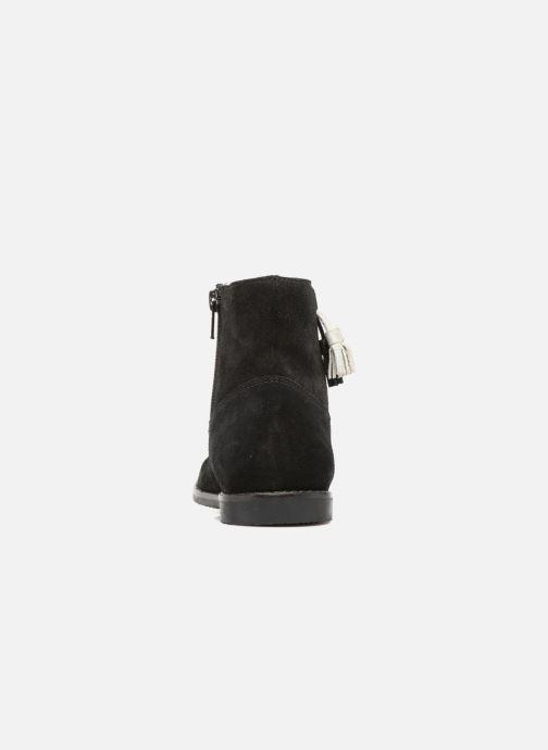 Boots en enkellaarsjes I Love Shoes SYLVE LEATHER Zwart rechts