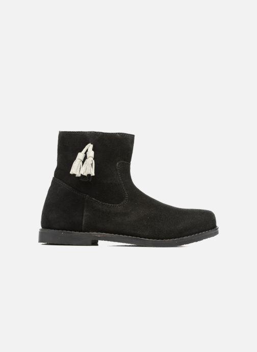 Boots en enkellaarsjes I Love Shoes SYLVE LEATHER Zwart achterkant