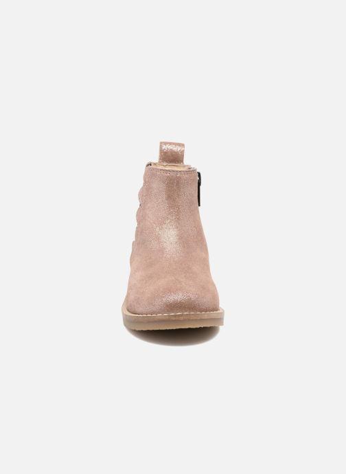 Bottines et boots I Love Shoes SELIME LEATHER Rose vue portées chaussures