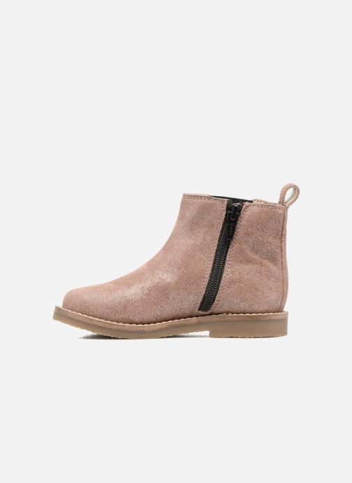 Ankle boots I Love Shoes SELIME LEATHER Pink front view