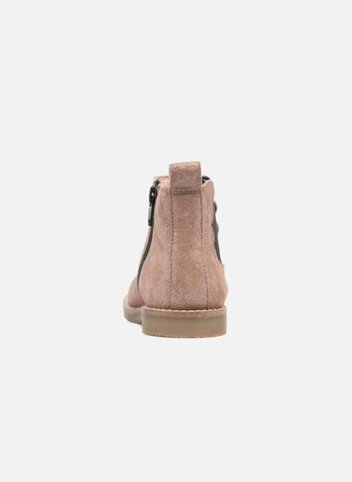 Ankle boots I Love Shoes SELIME LEATHER Pink view from the right