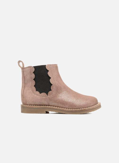 Ankle boots I Love Shoes SELIME LEATHER Pink back view
