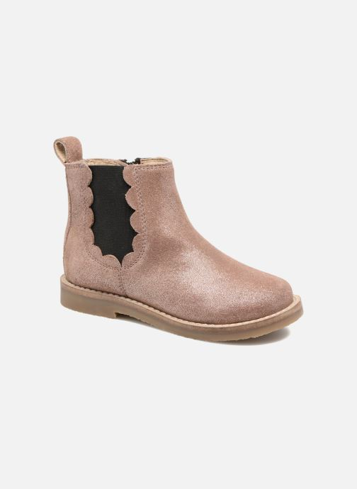Ankle boots I Love Shoes SELIME LEATHER Pink detailed view/ Pair view