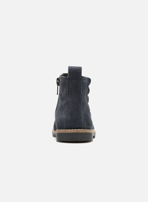 Botines  I Love Shoes SELIME LEATHER Azul vista lateral derecha