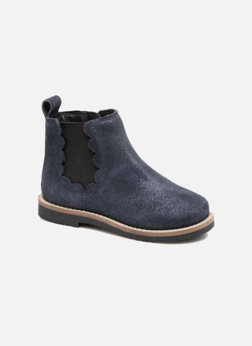 Botines  I Love Shoes SELIME LEATHER Azul vista de detalle / par