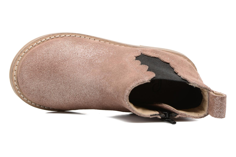 Boots en enkellaarsjes I Love Shoes SELIME LEATHER Roze links