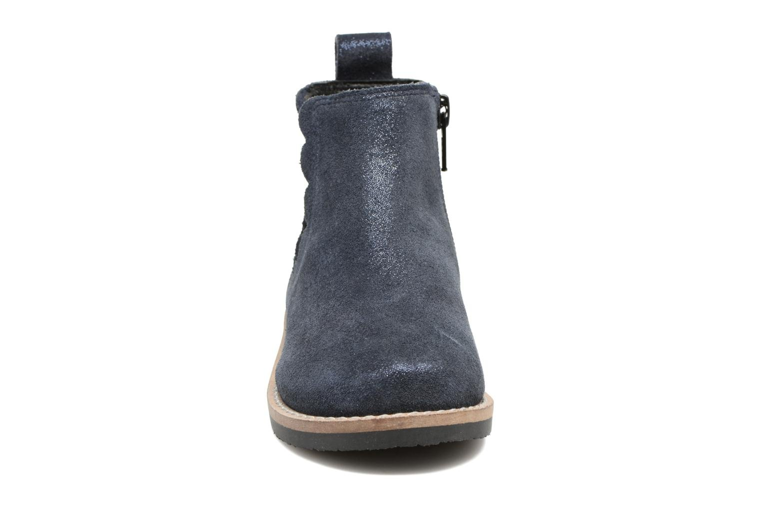 Ankle boots I Love Shoes SELIME LEATHER Blue model view
