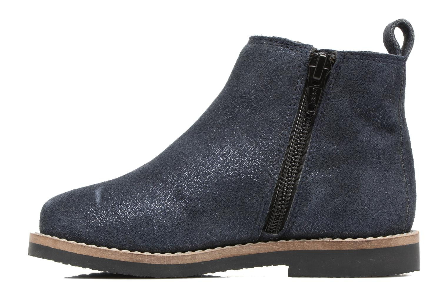 Ankle boots I Love Shoes SELIME LEATHER Blue front view