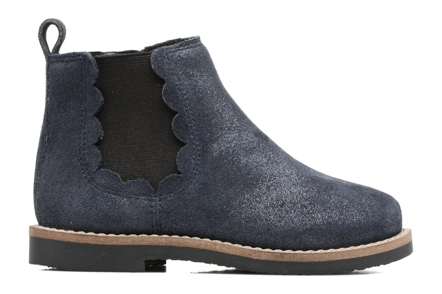 Ankle boots I Love Shoes SELIME LEATHER Blue back view