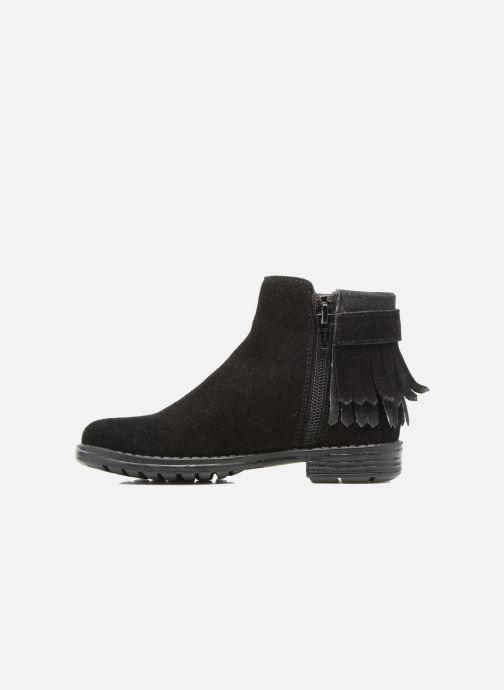 Bottines et boots I Love Shoes SYNDA LEATHER Noir vue face