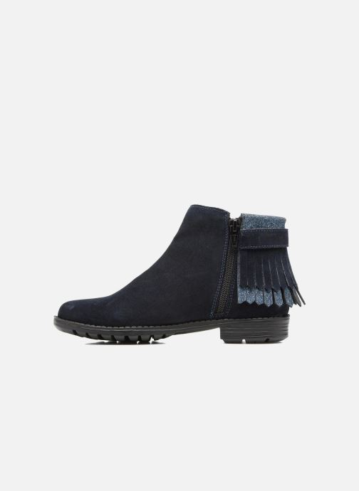 Ankle boots I Love Shoes SYNDA LEATHER Blue front view