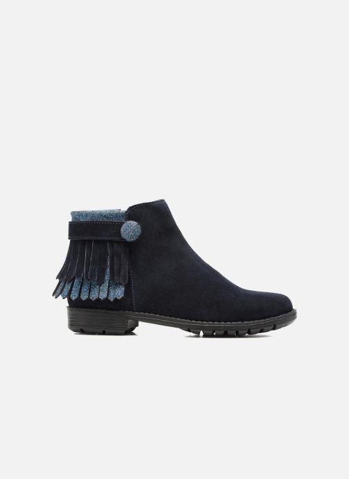 Botines  I Love Shoes SYNDA LEATHER Azul vistra trasera