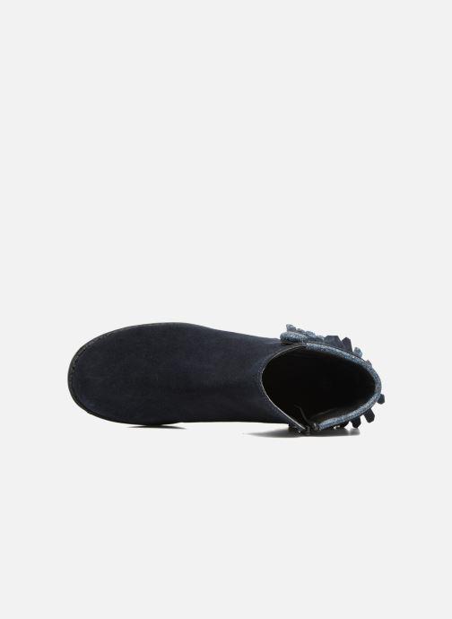Stivaletti e tronchetti I Love Shoes SYNDA LEATHER Azzurro immagine sinistra