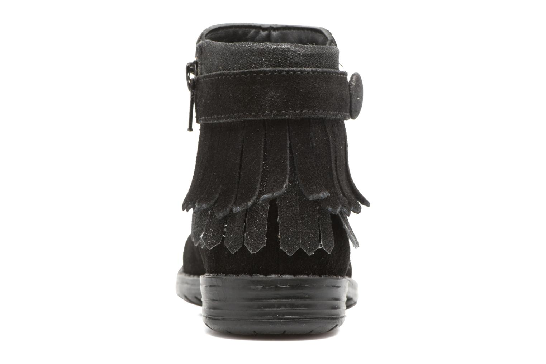Stivaletti e tronchetti I Love Shoes SYNDA LEATHER Nero immagine destra