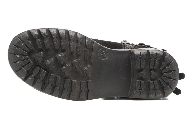 Stivaletti e tronchetti I Love Shoes SYNDA LEATHER Nero immagine dall'alto