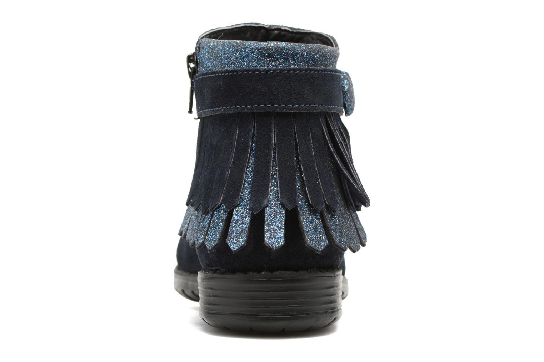 Stivaletti e tronchetti I Love Shoes SYNDA LEATHER Azzurro immagine destra