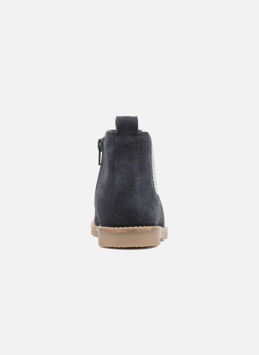 Botines  I Love Shoes STEFFI LEATHER Azul vista lateral derecha